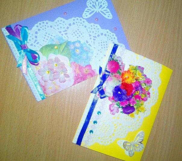 Новые открытки от бизнес-компании 'Успех' центра творчества 'Маладик'
