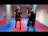 Тайский бокс Обучение - Как работать первым номером в ринге и на улице