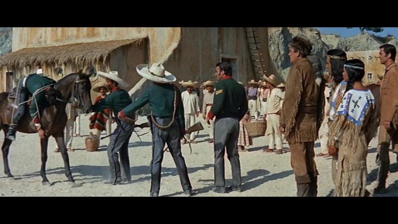 Виннету 10 Громовержец и Виннету (Winnetou und sein Freund Old...) 1966 BDRip 1080p Гланц и Королева