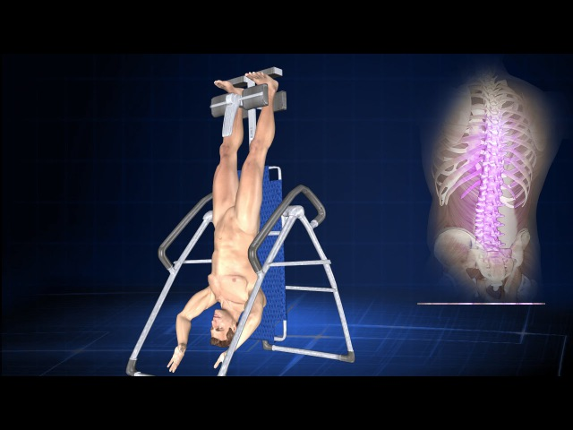 How Does Inversion Therapy or Hanging Upside Down Help Back Pain?
