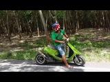 Скутер тюнинг Honda dio AF -18 swap tuning