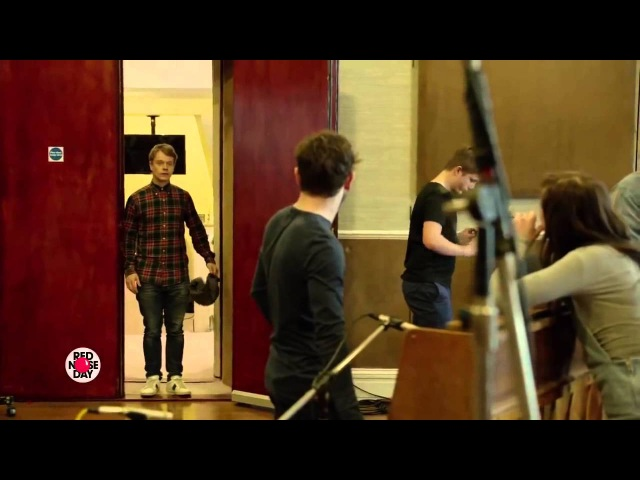 Iwan Rheon Reek Theon Ramsay THE BEST FRIENDS! Game of Thrones Musical For Red Nose Day