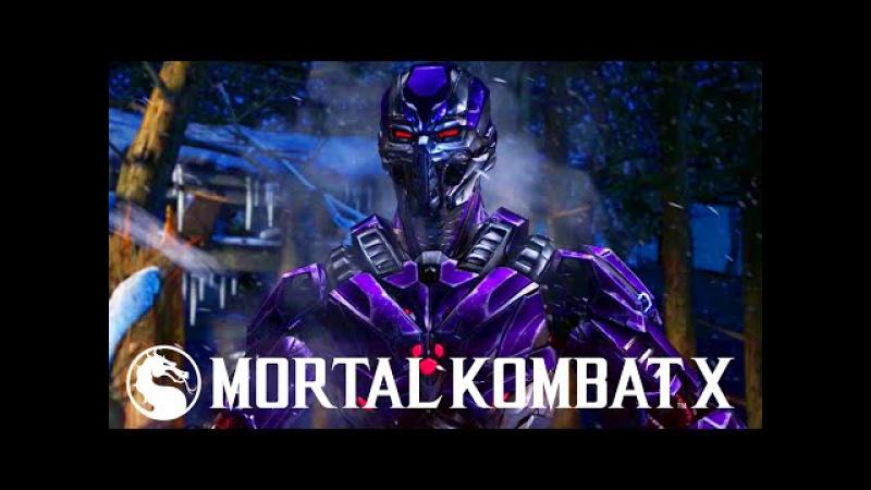 Mortal Kombat X: Smoke Combo Video - Mortal Kombat XL Triborg Smoke Gameplay
