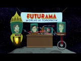 Futurama Worlds of Tomorrow - Official Launch Date Trailer with Stephen Hawking