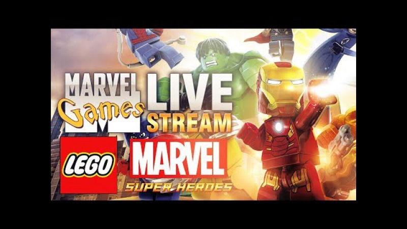 MG Live Stream 29 - LEGO Marvel Super Heroes