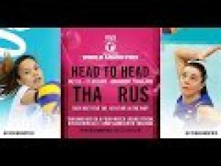 [ไทย] Thailand vs Russia / Group 1 / 08 Jul / FIVB Volleyball World Grand Prix 2016