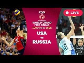 USA v Russia - Semi Finals: 2016 FIVB Volleyball World Grand Prix