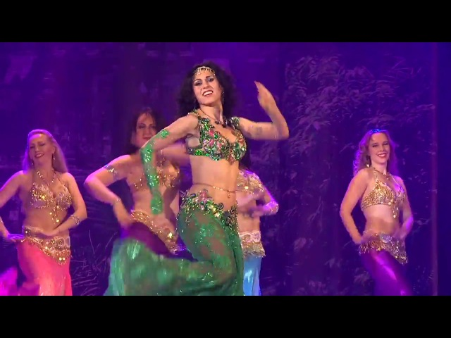 Belly dance 2017 - Elegant baladi Amira Abdi and students