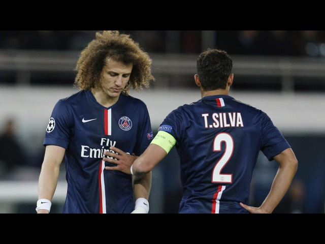 David Luiz Thiago Silva - Super Duo - Skills Goals 2015 - PSG