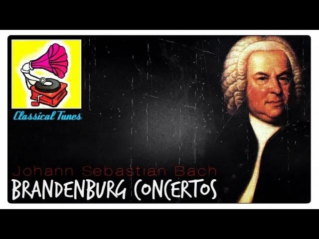 Johann Sebastian Bach - Brandenburg Concertos Classical Baroque Music