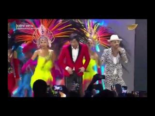 Franky Rey Кайрат Нуртас Казакша ламбада 2017 Инновациялық шоу концерт