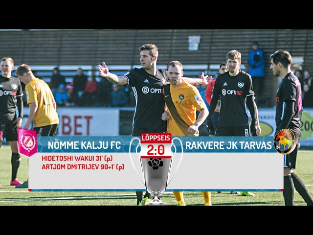 34. voor 2016: Nõmme Kalju FC - Rakvere JK Tarvas 2:0 (1:0)