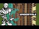 Minecraft Undertale Noteblockで「Bonetrousle」 「Nyeh Heh Heh 」