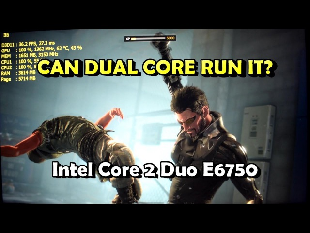 Gaming on Core 2 Duo E6750 - 10 PC Games Tested [AC/DOOM/COD Rem./DX:MD/Skyrim SE]