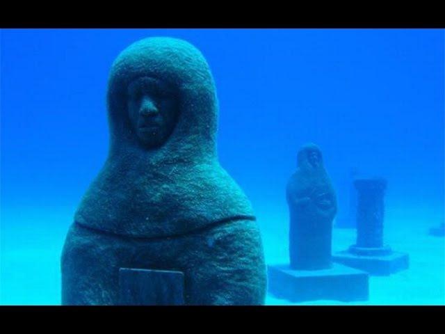 Скрытые под водой постройки неизвестной цивилизации повергли в шок исследователей!