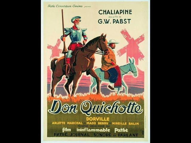 Don Quixote (1933), direção de G.W. Pabst, filme completo, legendado em português