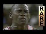 Michael Jordan - Eyes Closed Free Throw in 1988 Push & Excel Game - RARE!