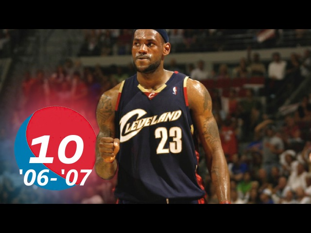 LeBron James Top 10 Plays of the 2006-2007 NBA Season