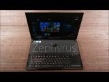 ASUS ROG Zephyrus - Толщина 1.8см!! + GeForce GTX 1080 в дизайне Max-Q