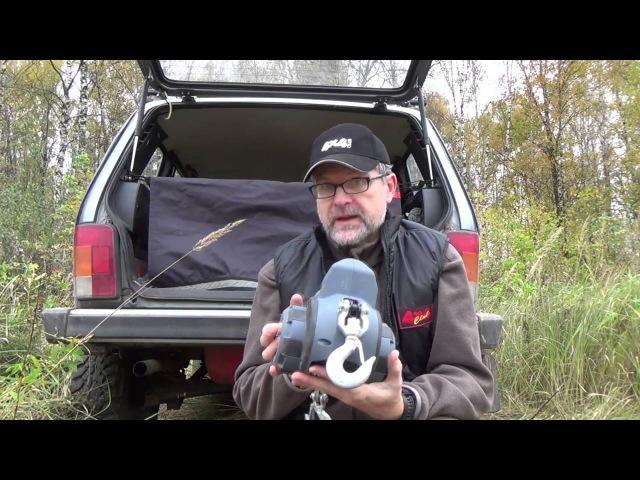 4x4PRO. Обзор лебедки Warn DrillWinch