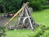 Самая большая реплика средневековой катапульты на сегодняшний день