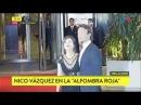Nico Vazquez en casamiento de Messi