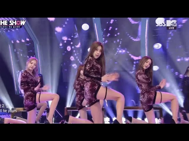 Girl's Day(걸스데이)_I`ll Be Yours @THE SHOW(더쇼) 20170404