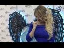 Дарья Пынзарь посетила выставку косметики в Санкт-Петербурге
