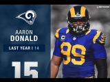 Los Angeles Rams DT Aaron Donald - Top 100 Players of 2017 - NFL