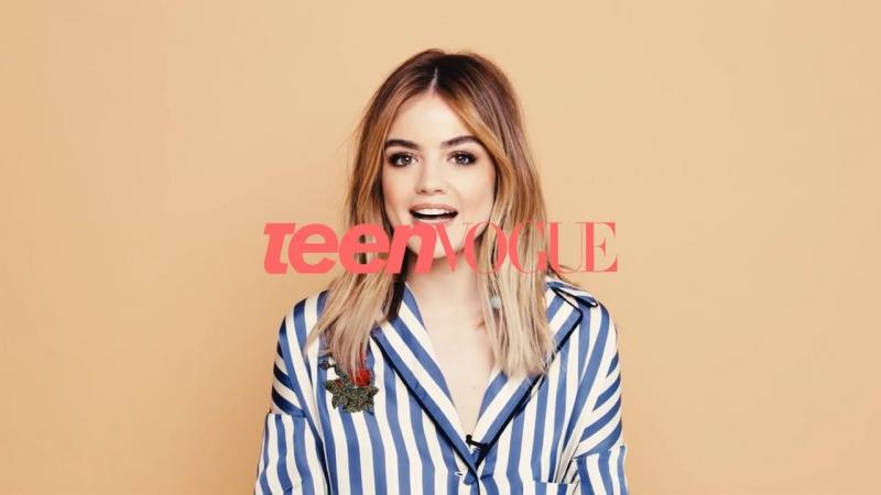 Люси Хейл играет в игру «Две правды и одна ложь» - Teen Vogue