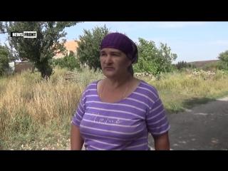Жительница Зайцево об украинцах, твари Порошенко и шпионах ОБСЕ