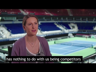 Victoria azarenka on serena williams