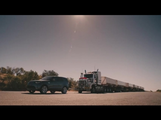 Land Rover Discovery тянет 110 тонн