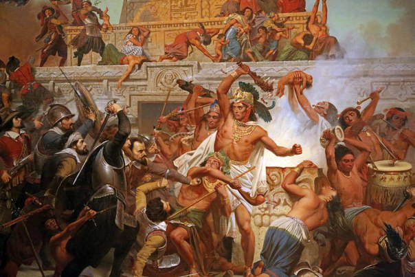 a history of the aztecs and the incas serving the spanish after being conquered What helped the spanish conquer both the aztec and the inca.