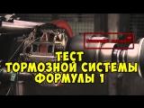 Brake Test of a F1 Disk