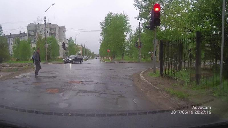 Особенности организации дорожного движения в Новодвинске.