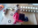 смесительный узел теплого пола, сборка основных компонентов