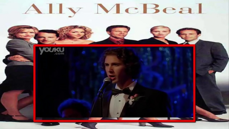 Josh Groban - Youre Still You on Ally Mcbeal (Live)