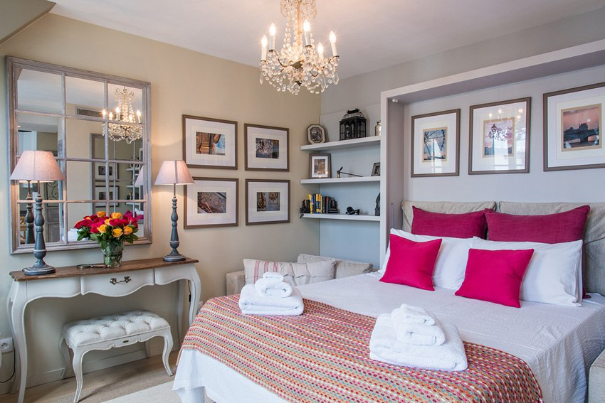 Квартира-студия почти 23 м для гостей Парижа.