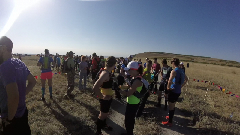 Самба Трейл 2017. Перед стартом на 36 км.