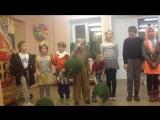18.02.17 Репетиция туристской песни. Дети в костюмах после сказки