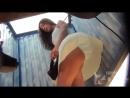 Подглядывание в пляжной кабинке