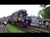 Прибытие поезда. Индия.