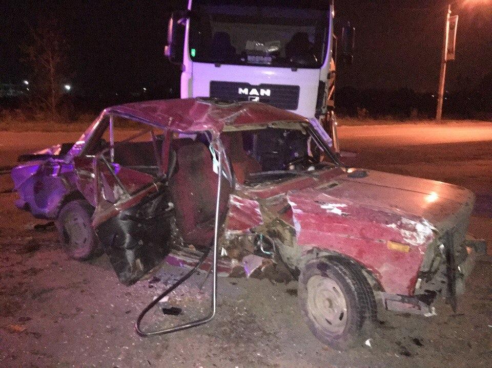 ВХарьковской области столкнулись 4 авто, умер 1 человек