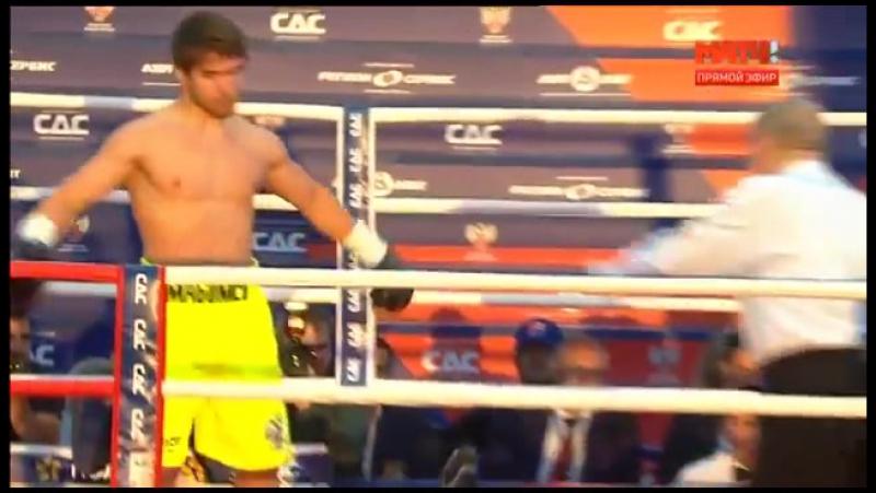 Бокс на Красной площади.Джейсон Минда vs Магомед Мадиев (1)