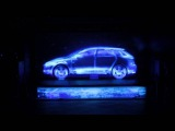 Презентация Audi A3 Sportback Projection Mapping
