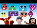 What Shape Is It? Song   Learn 8 Shapes with Lyrics   Learn English Kids