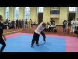 VIII Чемпионат Европы по Тайцзицюань. Санкт-Петербург 2016. Свободное туйшоу. Категория женщины до 52 кг. От нашей школы выступ