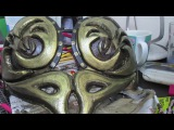 Painting a Xena Warrior Princess Breastplate