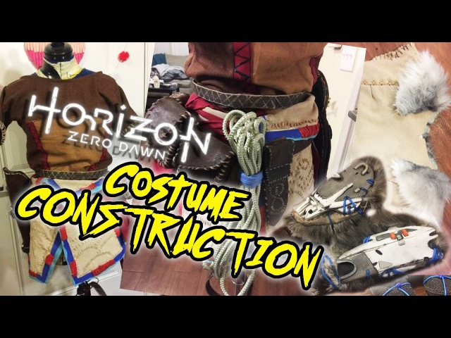 Finishing Costume Construction Aloy from Horizon Zero Dawn
